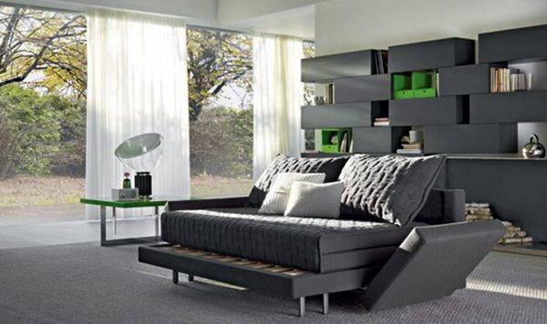 диван кровать с матрасом для ежедневного использования