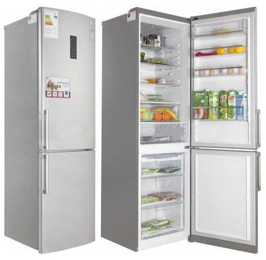 холодильник lg ga b489yeqz