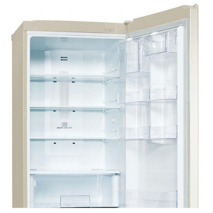 двухкамерный холодильник lg ga b489yeqz бежевый отзывы владельцев