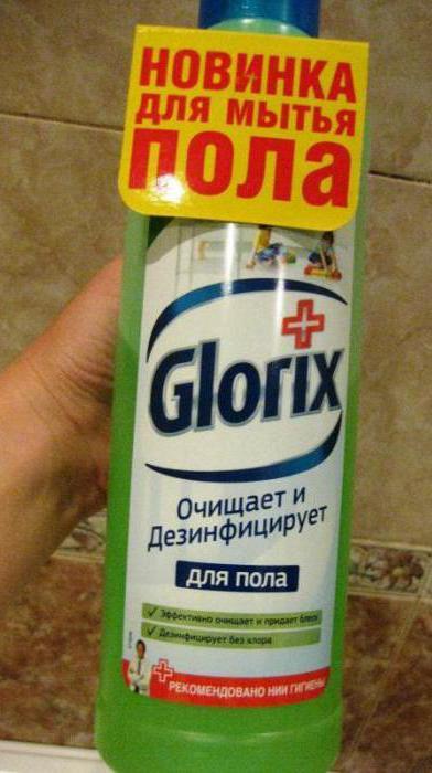 средство для мытья пола глорикс отзывы