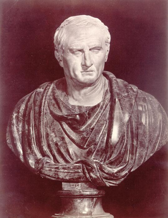 Марк Туллий Цицерон – политик, оратор, мудрец