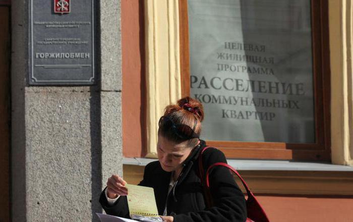 план расселения коммунальных квартир в санкт петербурге