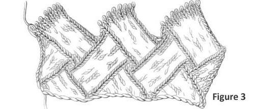 техника вязания энтерлак вязание спицами в технике энтерлак
