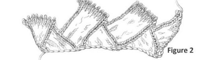 вязание техникой энтерлак