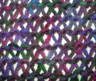Платочная вязка спицами: схема, описание. Как вязать платочной вязкой