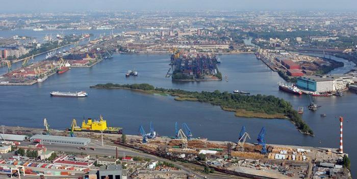 большой порт санкт