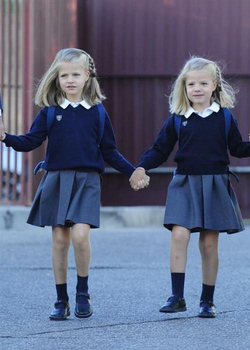 фасоны школьной формы с фартуком для девочек