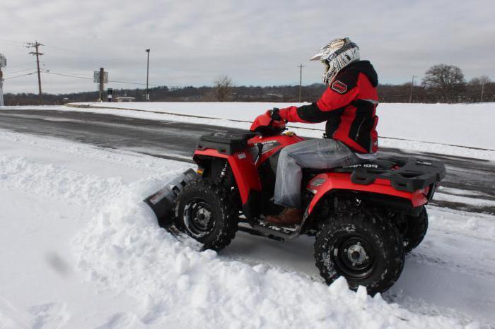 снегоуборочный отвал для квадроцикла