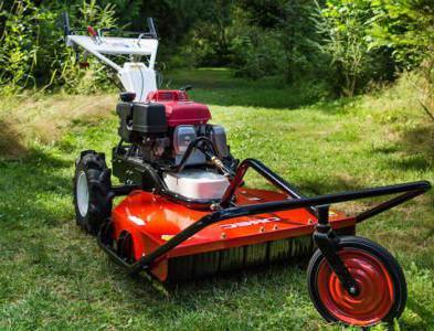 самодельная косилка для трактора