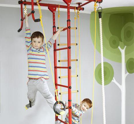 упражнения на спортивном комплексе для детей
