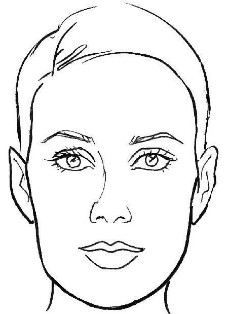 лицо прямоугольное