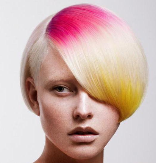 результаты осветления волос фото