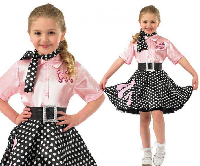 детские костюмы стиляг