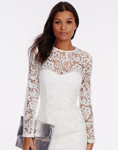 кружевная ткань для платья