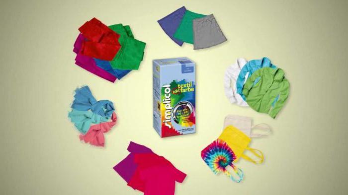 Simplicol – краска для одежды: характеристики, особенности применения