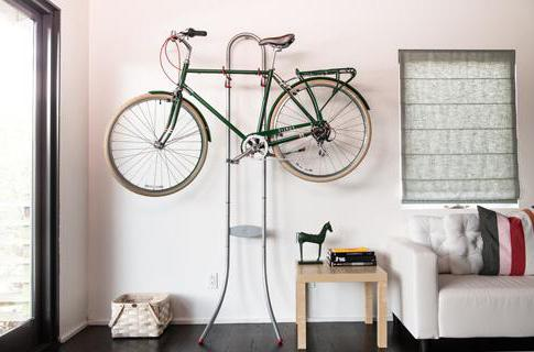 хранение велосипедов в квартире