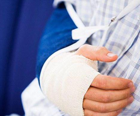Перелом руки в локтевом суставе