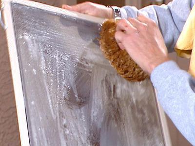 чем отмыть грунтовку глубокого проникновения со стекла