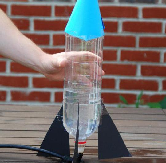 Взлетающая ракета своими руками 6