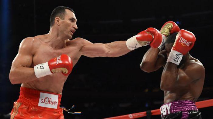 удар джеб в боксе