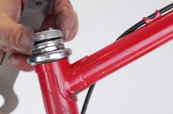 резьбовая рулевая колонка велосипеда