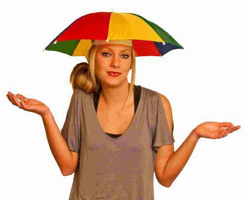 зонт шляпа