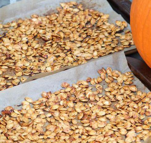 как сушить тыквенные семечки в духовке