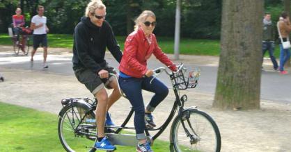 велосипед двухместный взрослый