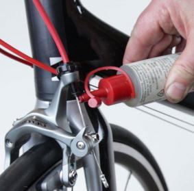 смазка вилки велосипеда