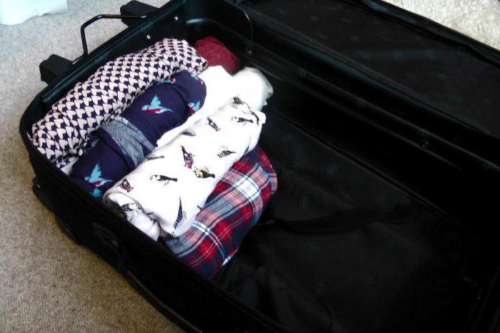 как правильно сложить вещи в чемодан