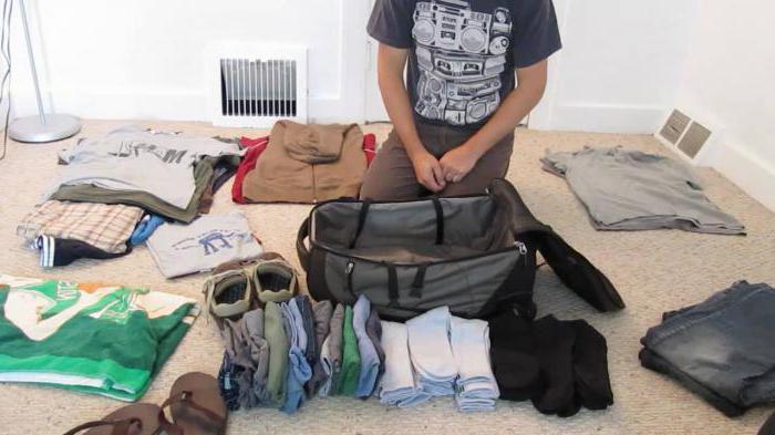 как аккуратно сложить вещи в чемодан