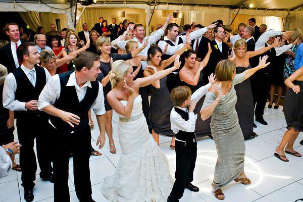 Флешмоб на свадьбе фото