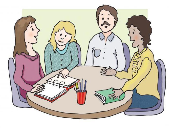 знакомство с родителями на собрании приемы