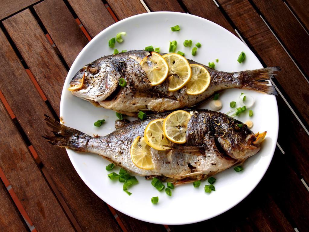 приготовленная рыба с мятой фото на аву время