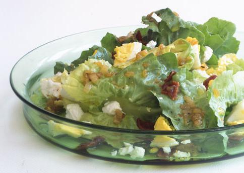 салат из вареной трески, рецепт