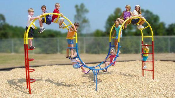 оборудование для спортивной площадки в детском саду