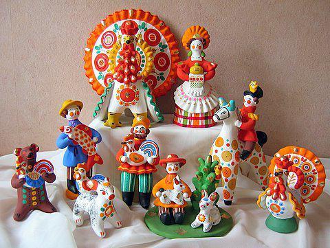 народное декоративное искусство в детском саду