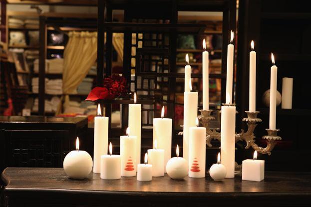 Стеариновые свечи своими руками