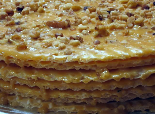 Вафельные коржи начинка торт