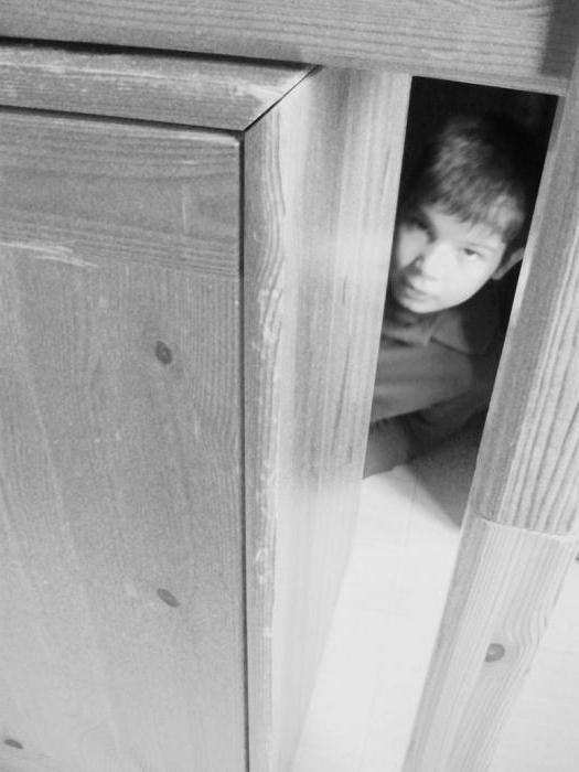 Сонник прятаться