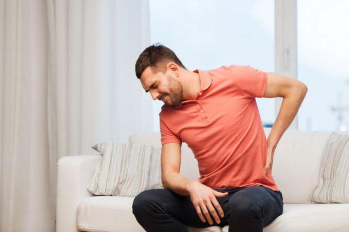 После поднятия тяжести болят почки