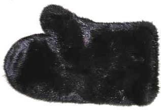 Меховые варежки из норки