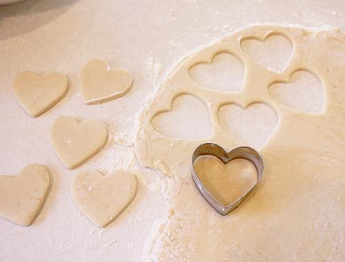 Печенье из молока яиц и муки