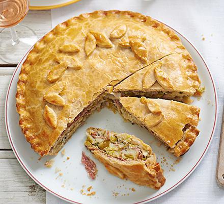 Пирог с картошкой в духовке простые рецепты