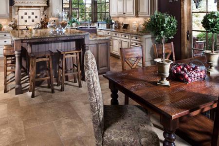 Кухня в частном доме разнообразие фантази