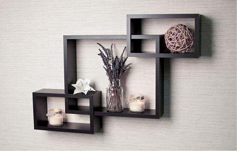 Дизайн полок на стену