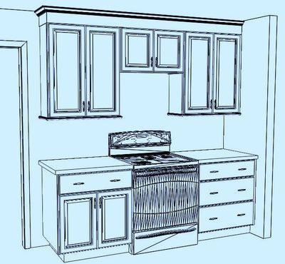 Ширина кухонного гарнитура