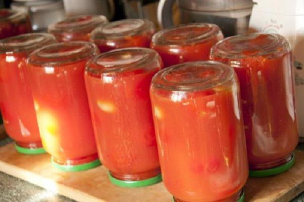 Простой рецепт томатов в собственном соку без стерилизации
