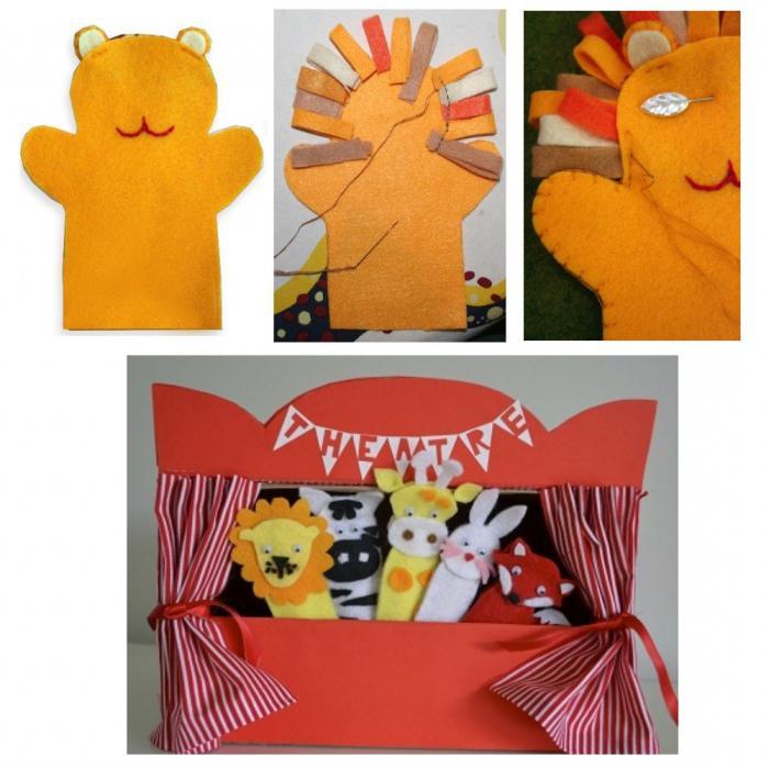 домашний кукольный театр своими руками