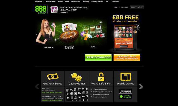 Отзывы о 888 казино игровые автоматы торрент бесплатно